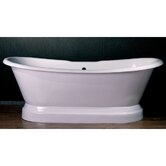 "71"" x 29"" Dual Ended Bath Tub"