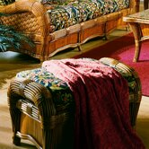 Spice Islands Wicker Ottomans