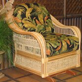Spice Islands Wicker Living Room Chairs