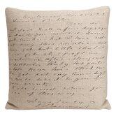 Artisan Script Pillow