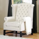 Baxton Studio Wing Chair