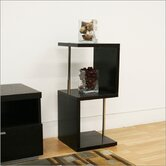 Baxton Studio Cornelia Modern Short Display Shelf in Dark Brown