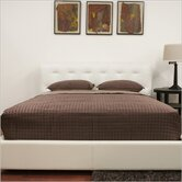 Baxton Studio Chesterfield Queen Platform Bed