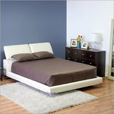 Baxton Studio Romar Queen Platform Bed