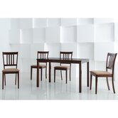Baxton Studio Sharon 5 Piece Dining Set