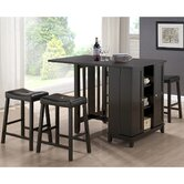 Baxton Studio Aurora Modern Pub Table Set