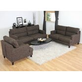 Baxton Studio Tully Modern Sofa Set