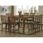 Baxton Studio Olivia 7 Piece Counter Height Dining Set