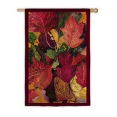 Colorful Fall Leaves Garden Flag
