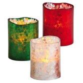 LED Pillar Candle (Set of 3)