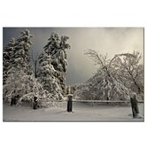 'Winter Scene II' Canvas Art