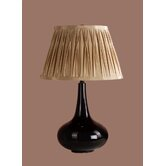 Brittney Table Lamp with Charlotte Shade in Black
