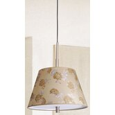 Carla Barrel Pendant Shade in Coffee / Gold