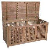 Outdoor Eucalyptus Wood Storage Box