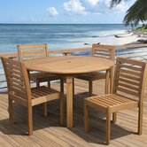 Amazonia 5 Piece Dining Set