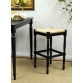 "Hawthorne 30"" Antique Black Counter Stool"