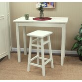 O'Malley Pub Bar Stool in Antique White