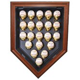 Twnety One Baseball Home Plate Display
