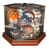 Boardroom 8 Mini Helmet Rotating Display Case