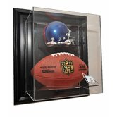 "Mini Helmet and Football ""Case-Up"" Display"