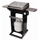 All-Foods Tabletop LP Gas Outdoor Grill with Veggie Panel