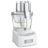 Elite 12-Cup Food Processor in White