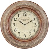 Mackenzie Clock in Distressed Aged Copper