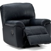 Melrose Leather Chaise Recliner