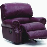 Charleston Leather Chaise Recliner