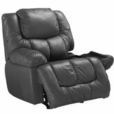 Marquise Leather Chaise Wallhugger Recliner