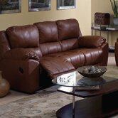 Benson Leather Reclining Sofa