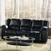 Franco Leather Reclining Sofa