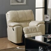 Picard Leather Chaise Recliner