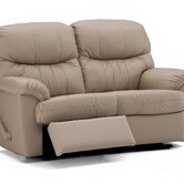 Orion Leather Reclining Loveseat