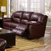 Tracer Leather Reclining Sofa
