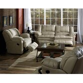 Gamma 2 Piece Leather Reclining Living Room Set