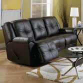 Buzz Leather Reclining Sofa