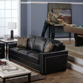 Brock Leather Sofa
