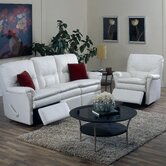 Viva Leather Reclining Sofa