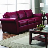 Maguire Leather Sleeper Sofa