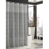 Bedminister Scroll Shower Curtain in Flint Grey