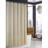 Parc East Bricks Shower Curtain in Ivory