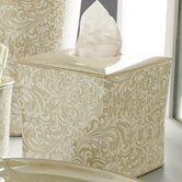 Bedminister Scroll Tissue Holder in Crème Brule