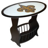 NFL Logo End Table