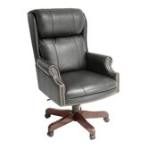 Ivy League High-Back Traditional Judges Office Chair