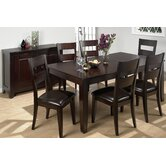 Rustic Prairie 7 Piece Dining Table Set
