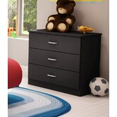 Libra 3-Drawer Chest