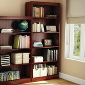 Axess Five Shelf Bookcase in Royal Cherry
