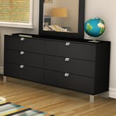 Spark Double 5-Drawer Dresser