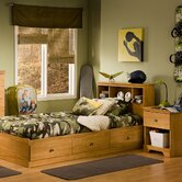 Kids Bedroom Sets - Wood Tone: Medium Wood | Wayfair